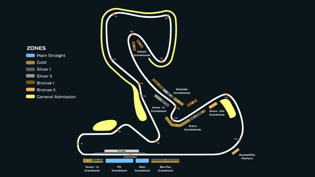 Tribunes en categorieen F1 Zandvoort