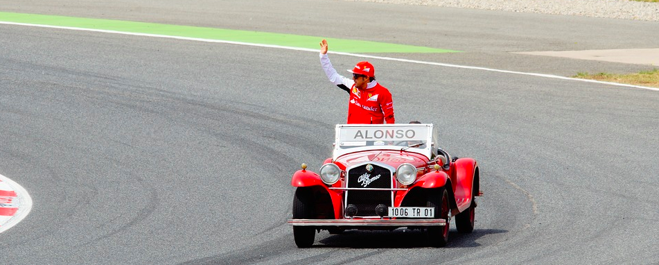 Ereronde met Alonso