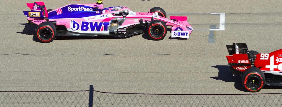 Formule 1 startopstelling
