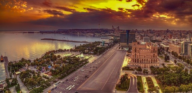 GP Baku in Azerbeidzjan